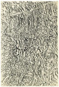 Dessin mescalinien - Henri Michaux -Tachisme Tachisme, Augustin Lesage, Henri Michaux, Automatic Drawing, Poesia Visual, Brassai, Modern Art Movements, Art Database, Design Thinking
