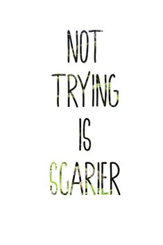 Not trying is scarier, Your Best Self Magazine, Free Printable Quotes, Affirmations Self, Affirmations positive, Affirmations motivation, affirmations for women, affirmations success, affirmations confidence, affirmations abundance, affirmations printable, affirmations daily, quotes affirmations, affirmations life, quotes inspirational, quotes for women, quotes deep that make you think, sayings and quotes, free printable wall art, self care quotes inspiration, #dailyaffirmations, #dailyquote