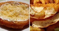 kovaszos-langos-krumplis-valtozat-fokhagymasan-tejfollel-es-reszelt-sajttal Baked Potato, Mashed Potatoes, French Toast, Sandwiches, Bakery, Paleo, Cooking Recipes, Mint, Bread