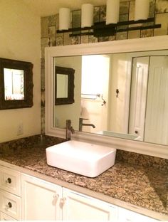 The Glass Shop In Bonita, FL Makes Over A Customer Bath   Adding A  MirrorMate