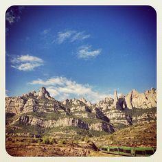 #montserrat des de #monistrol #catalunya #catalonia