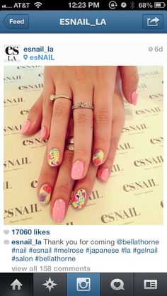 ES Nail LA... Follow on Instagram!