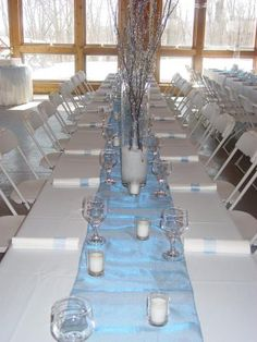 ice blue and silver wedding ideas | Your Wedding Support: GET THE LOOK - Ice Themed Wedding