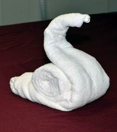 How to make a Towel Snail