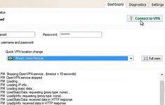 Como alterar o endereço IP através de uma VPN