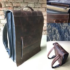 Home - Lot tassen Leather Backpack, Messenger Bag, Satchel, Backpacks, Handmade, Bags, Handbags, Leather Backpacks, Hand Made