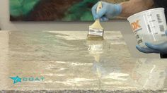 iCoat owner Tim Phelps shows you how to apply iCoat Countertop Epoxy for a clean and level finished surface. For Mor info Call iCoat on or www.