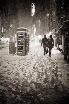 Royal Mile in winter