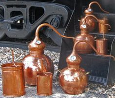 Our handcrafted pot stills are not only beautiful, but provide huge distillation versatility, including: Whiskey, Scotch, Rum, Bourbon, Cognac, Schnapps, Tequila, Vodka, and Moonshine. Buy with confidence with our 90 day, 100% cash-back guarantee!
