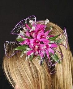 Flowers for Prom, Hair pieces, corsages, boutineers