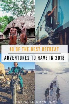Adventure travel | Want to get off the beaten path when travelling? These 10 places will be great for that. See if you would go there...  Wow! Very nice image!  #lovetotravel #travelforfun