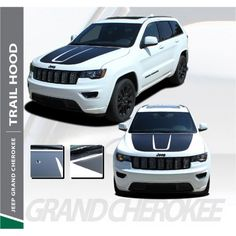 Vinyl Graphics Stripe Car Sticker Bonnet Star Decal For Jeep Renegade Cherokee