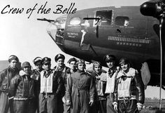 """The crew of the B-17 Flying Fortress """"Memphis Belle"""""""
