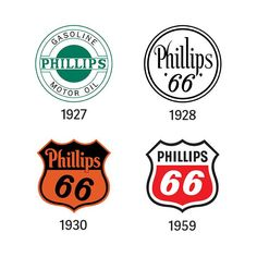 Embedded image permalink Historical logos from Phillips 66 Company..............
