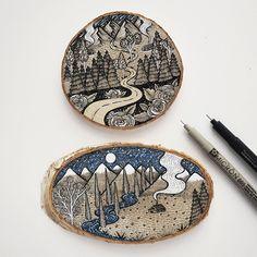 illustration, drawing, wood slab