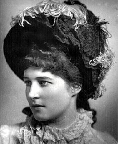 Lillie Langtry, a famous 19th century British actress who carried on a number of love affairs with very prominent men.