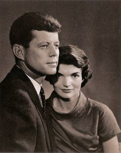 John and Jacqueline Kennedy, 1957. Photo by Yousuf Karsh.