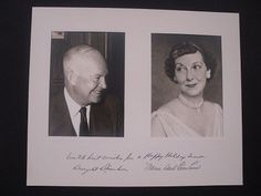 Eisenhower Christmas Card