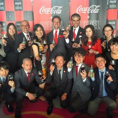 #CocaCola + #Riedel launch party in Tokyo Japan!