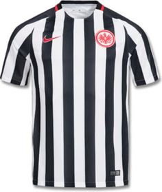 1c305cc9f The Eintracht Frankfurt home kit introduces a new design for the club