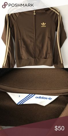 Adidas Supergirl Track Jacket Women's track jacket showcases the 3-stripes down the sleeves. Adidas logo on the front and back. An adidas classic. Adidas Jackets & Coats