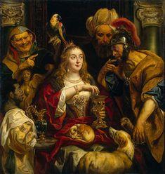 Cleopatras Feast  Jacob Jordaens