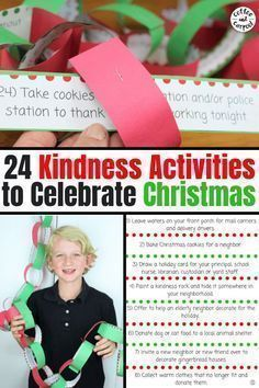 Help your kids focus on kindness this December with these 24 daily Christmas Kindness Activities from Coffee and Carpool that can be turned into a Christmas Countdown Advent Calendar. Kindness Activities, Fun Activities, Educational Activities, All Things Christmas, Kids Christmas, White Christmas, Christmas Gifts, Christmas Projects, Kindness For Kids