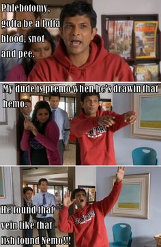 My new theme song for IVs. Thanks Mindy Project.