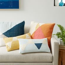 Twin Bedroom throw pillow - Pillow Covers, Decorative Pillow Covers & Modern Pillows | west elm