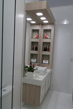 The bathroom is an essential part of the house, where it is good to take care of yourself and relax to fill with serenity. Discover our instructions for a Zen bathroom with our 8 decorating ideas: you have beautiful hours… Continue Reading → Bathroom Vanity Storage, Zen Bathroom, Simple Bathroom, Bathroom Layout, Bathroom Interior, Wooden Bathroom Cabinets, Mini Bad, Washbasin Design, Interior Design Boards