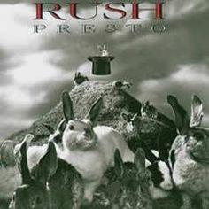 """L'album dei #Rush intitolato """"Presto""""."""