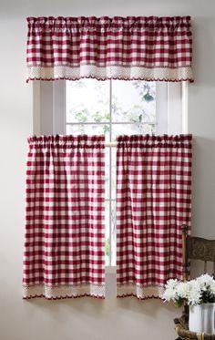 Buffalo Check Country Curtains