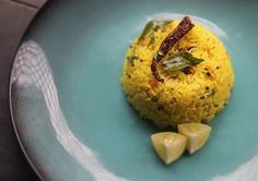 If you have leftover white rice, this is one delicious make-over you can give it in a jiffy. The sourness of the lime is subdued by the fragrant oil, giving you a savoury rice that is easy to impress with.