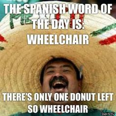 spanish word of the day: wheelchair