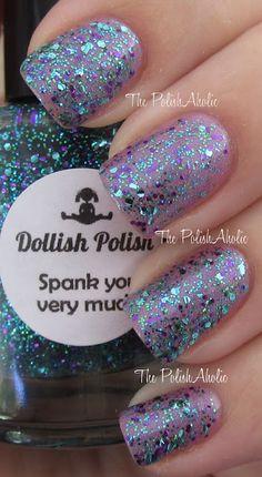 Dollish Polish: Spank You Very Much with the Dollish Polish: Looking For My Mr Big