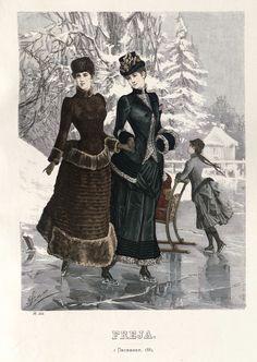 Freja - Illustrerad Skandinavisk Modetidning (Swedish) 1884
