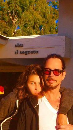 Chris with daughter Toni