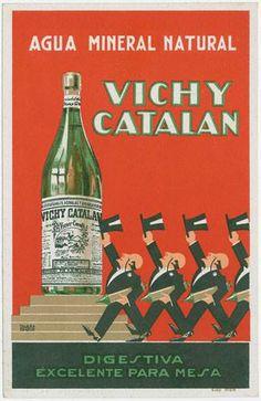 Agua mineral con gas Vichy Catalán