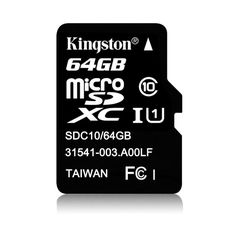 Buy online #Kingston 64GB Micro SDXC Class 10 #Memory #Card @ p3store.com for Rs.1,301/-