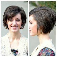 cute - especially for letting a short layered cut grow out a little