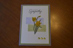Sympathy Card by joni710 - Cards and Paper Crafts at Splitcoaststampers