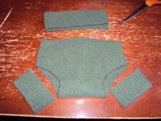 wool soaker upcycled sweater