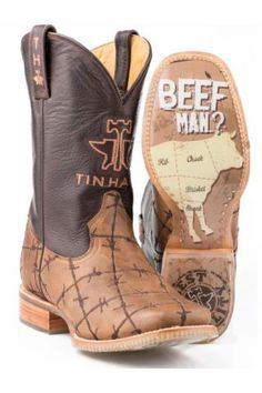 Butcher Shop Tin Haul Cowboy Boots Urban