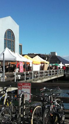 Farmers Market at the Ferry Building in San Francisco, California.