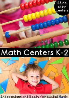 These math centers are perfect for math daily 3! There are over 25 math centers that can be used over and over again. These centers utilize math game boards, so many are just print and go, almost no cutting and NO laminating involved in getting these centers off the ground.
