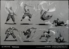 Dishonored 2's Kills, Illustrated