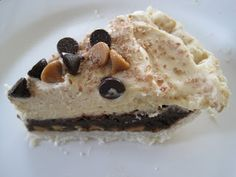Some Kind of Delicious: Mile High Peanut Butter Brownie Pie