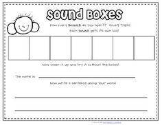 1000+ images about Elkonin Sound Boxes on Pinterest | Boxes, Box ...