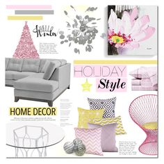 """My holiday home"" by mada-malureanu ❤ liked on Polyvore featuring interior, interiors, interior design, home, home decor, interior decorating, Sounds Like Home, Trina Turk LA, Dot & Bo and Nuevo"