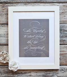 Market stall business ideas - #13 framed quotes